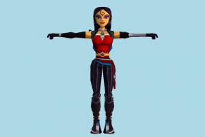 Girl girl, female, woman, people, human, character, cartoon