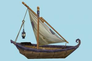 Boat boat, sailboat, watercraft, ship, vessel, sail, sea, maritime, fishing, lowpoly
