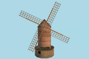 Windmill windmill, mill, wind, barn, farm, house, town, country, home, building, build, structure