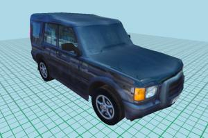 Jeep Car Low-poly