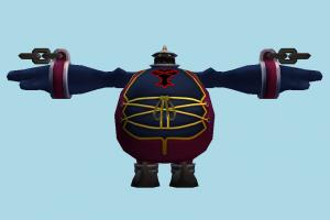 Large Body animal-character, character, robot, cartoon