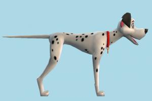 Pongo dalmatians, dog, puppy, 101, animal, cartoon, toony
