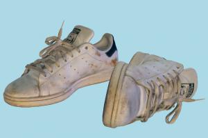 Old Shoes scanned-models, shoes, shoe, boot, boots, footwear, sandal, product, sport, dirty, old, dust, sneaker, adidas