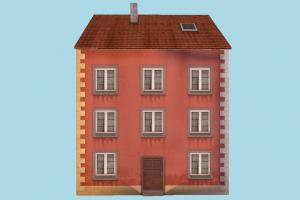 Apartment House house, home, building, build, apartment, flat, residence, domicile, structure