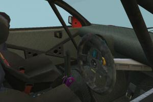 Colin McRae Racing Car with Interior details
