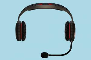 Headset headphones, headset, music, listen, microphone, gamer