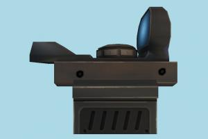 Gun Scope scope, sniper, gun, weapon, camera, objects