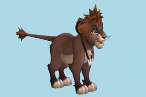 Lion Sora lion, animal, animal-character, cartoon