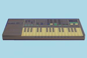 Sampling Keyboard org, sampler, keyboard, piano, music, casio, retro-radio, electronic, device, object