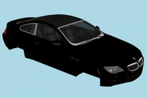 BMW M6 car-body, car-parts, no-wheels, bmw, car, vehicle