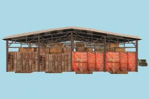 Barn barn, farm, warehouse, storage, cargo, house, town, country, home, building, build, structure