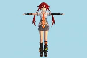 Uzume Tennouboshi girl, female, woman, people, human, character, cartoon, cute, hentai