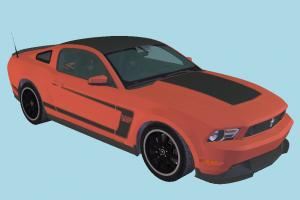 Ford Mustang Car Ford-Mustang, racing, car, ford, vehicle, transport, carriage