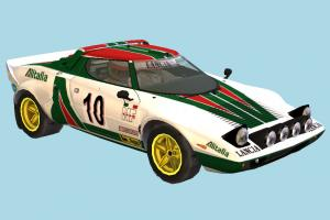 Lancia Stratos Car car, vehicle, transport, carriage