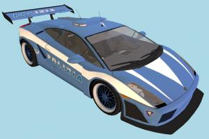 Lamborghini Car lamborghini, gallardo, polizia, racing, race, fast, speed, car, vehicle, truck, carriage, blue