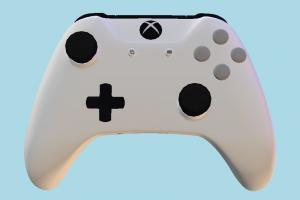 Controller xbox, controller, remote, console, ndo, hard-surface, quixel, game, play