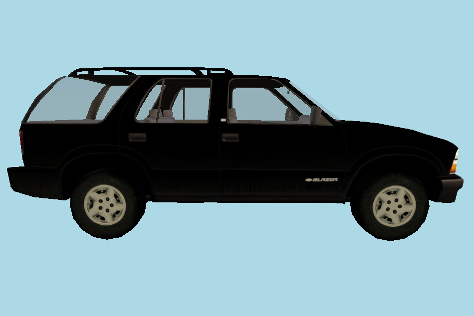 Blazer Car - 3D Land Transport 3d model