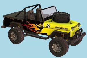 Offorad Car offroad, multi-covers, car, truck, vehicle, carriage, transport