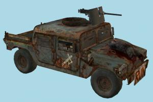 Jeep Car jeep, car, truck, military, army, russian, vehicle, carriage, salvation, buggy, tlou, the_last_of_us
