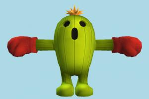 Palmon Pokemon, Pokémon, Digimon, animal-character, cactus, cartoon