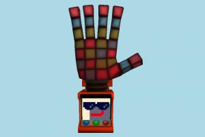 Arcade Machine arcade-machine, hand, leapmotion, leap-motion, arcade, machine, game, play, station, amusement, entertainment, fun, cabaret, pastime, lowpoly