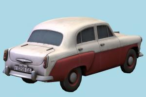Beetle Car Moskvitch Car-2