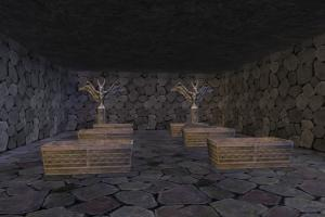Temple temple, room, BSP, statue, gate, build, structure