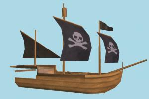 Pirate Ship galleon, pirate-ship, boat, sailboat, pirate, ship, watercraft, vessel, wooden, maritime