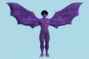 Tekken Devil tekken, bat, devil, evil, monster, fly, character