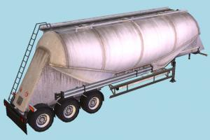 Cement Cistern truck, constructor, trailer, vehicle, carriage
