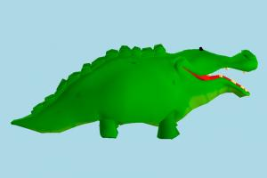 Crocodile alligator, crocodile, animal, animals, cartoon
