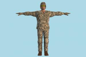 Soldier army-man, soldier, army, military, man, male, people, human, character