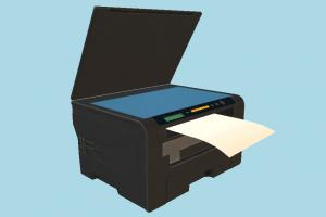 Printer printer, hp, office, electronic, device, photo, assets, office-stuff, design, computer, studio, coppier, object