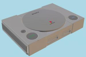 PlayStation 1 playstation, ps1, sony, console, gaming, retro, play, station, electronic, appliance, entertainment, video-games, device