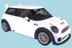 MINI Cooper Car mini-car, Mini-Cooper, MiniCooper, car, vehicle, transport, carriage, white