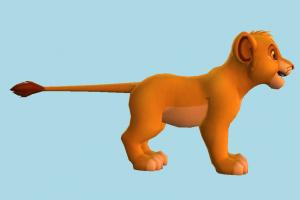 Simba Young Lion-King simba, lion-king, lion, animal, animals, zoology, cartoon, toon
