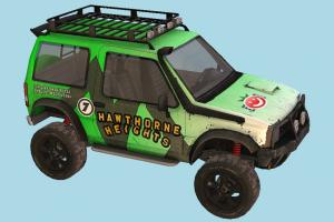 Offorad Car offroad, super, fast, racing, hummer, car, truck, vehicle, carriage, transport