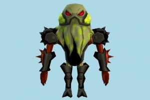 Vilgax Nano Ben10, ben, ten, character, monster, cartoon