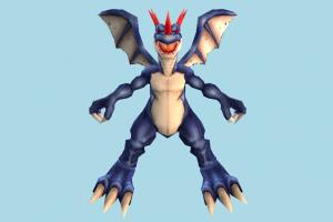 Coredramon dragon, animal-character, character, animal, animals, cartoon