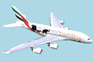 Emirates Airbus airbus, airliner, airport, plane, airplane, aircraft, air, liner, craft, vessel