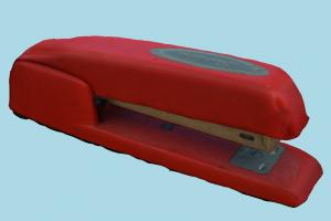 Stapler scanned-models, stapler, paper, office, tools, workplace, household, object