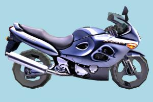 Motorcycle Low-poly motorbike, bike, motorcycle, motor, cycle, sport, sportive, speed, fast, racing, race, low-poly