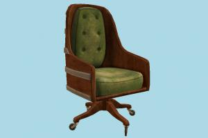 Chair chair, office, vintage, retro, noir, old