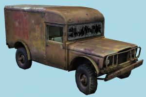 Military Ambulance truck, abandoned, ambulance, jeep, rusty, old, destroyed, derelict, damaged, wrecked, military, car, vehicle, carriage