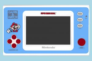 Game Watch nintendo, console, atari, videogame, handheld, video, game, pocket, watch, mario
