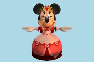 Minnie Mouse mickey, mouse, animal-character, character, cartoon