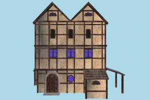 House house, home, building, medieval, skyscraper, build, apartment, flat, residence, domicile, structure