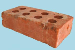 Brick brick, block, rock, photogrammetry, scan, material