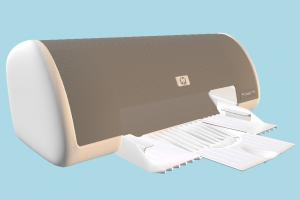 HP Printer printer, hp, office, electronic, object, machine