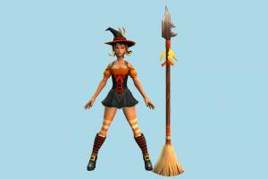 Nidalee Witch witch, woman, halloween, lady, girl, female, people, human, character